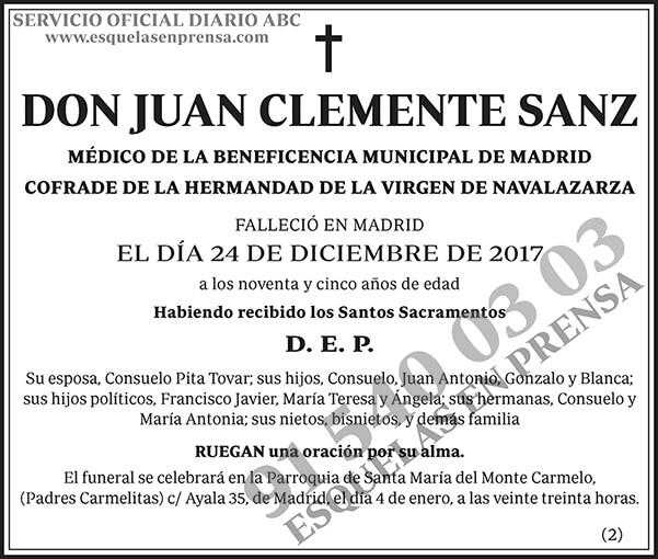 Juan Clemente Sanz